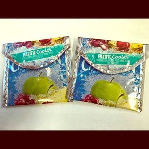 Repurposed/ Upcycled Juice Pouch Wallet Set of Two